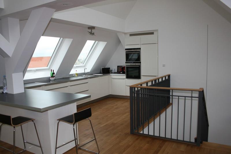 Stunning Küchen Für Dachgeschosswohnungen Gallery - Home Design ...
